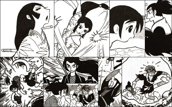 白土三平絵文学 - アニメーション関連